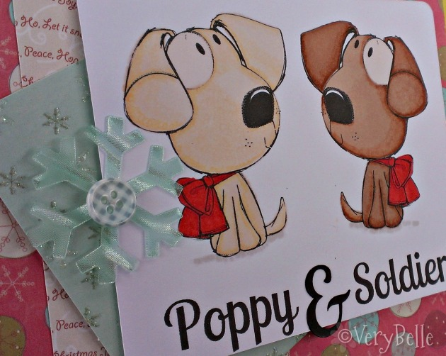 poppy and soldier close
